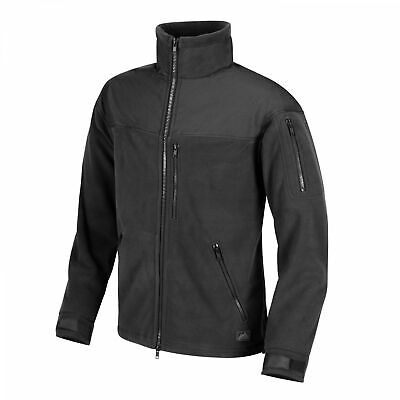Helikon-Tex Classic Army -Fleece- Vlies-Jacke Outdoor Militär - Schwarz