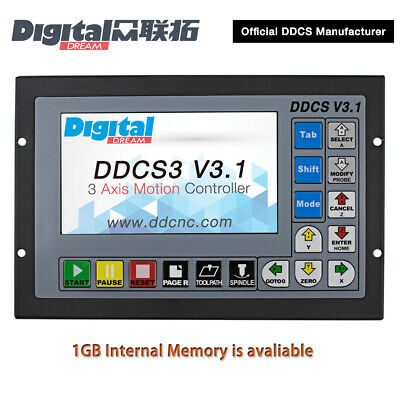 Digital Dream 3 Axis CNC Standalone/Offline Motion Controlle DDCS3 V3.1 DDCSV3.1