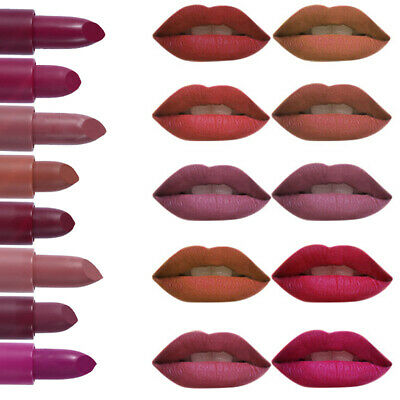 MISS ROSE Matte Lipstick Waterproof Long Lasting Lip Cosmetic Beauty Makeup