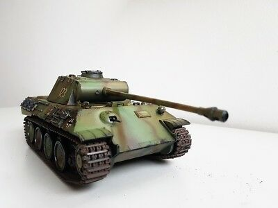 Built 1/35 Award Winner German Ss Div  Panther,super Recommended For Collect