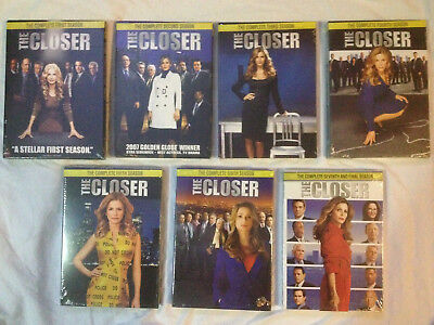 The Closer - Seasons 1-7 COMPLETE SERIES DVD
