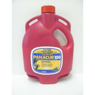Coopers Panacur 100 Broad Spectrum Drench Cattle and Horses 1L - (WCP1001)