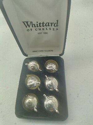 Name Card Holders Whittards Teapots