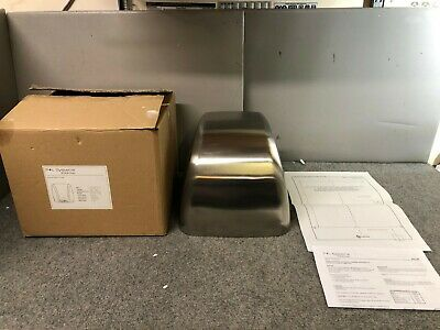 P + L Systems DV2100S Automatic Hand Dryer Silver - NEW