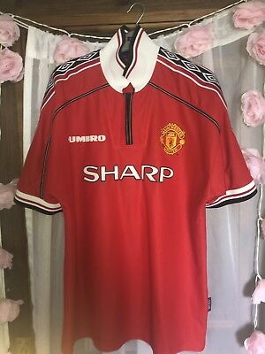 fc43e5f07 MANCHESTER UNITED SHIRT 11 Ryan Giggs White AIG XL age 13   15 kids ...