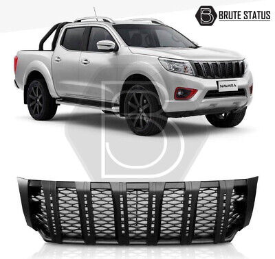 Nissan Navara NP300 2015-2019 Front Grille with LED DRL Black Grill