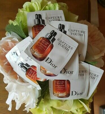DIOR Capture Youth Glow Booster Age Delay Illuminating Serum 8X 1ML Samples