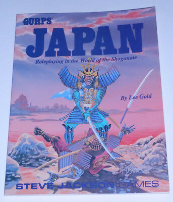 GURPS Japan - roleplaying in the world of the shogunate