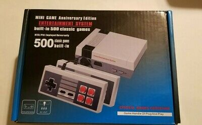 Mini Game Anniversary Edition Entertainment System 500 Games Built In US/EU Plug
