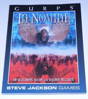 GURPS In Nomine - Earth is the Battleground for Heaven and Hell