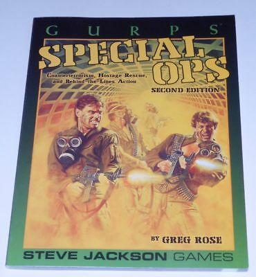 GURPS Special Ops - Counterterrorism, Hostage rescue and behind-the-lines action
