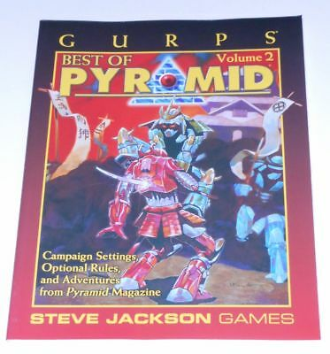 GURPS Best of Pyramid Volume 2 - Campaign settings, optional rules and adventure