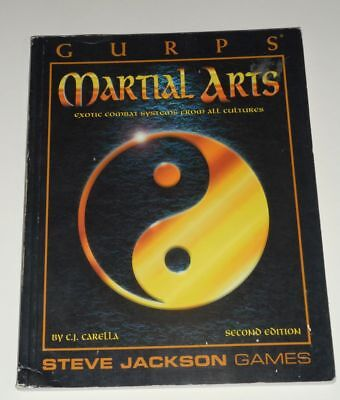 GURPS Martial Arts - Exotic Combat Systems from all cultures