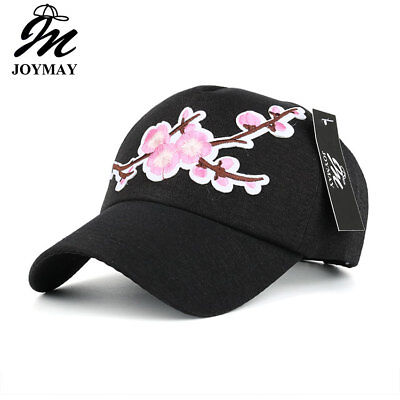 JOYMAY Spring New Fashion Women Baseball cap with Flower Embroidery Adjustable