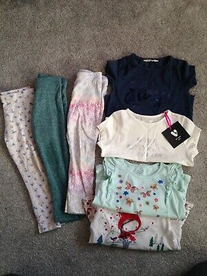 a6ba00158 GIRLS CLOTHES BUNDLE - Tops - Leggings - Age 2-3 Years - £5.00 ...