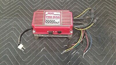 MSD SIX SHOOTER PN 8158 w/ MSD Pro Mag Timing Retard Module PN 8168