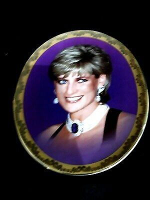 """Davenport - Memories of Diana """"She Brightened our Lives"""" Oval Plate - B40 Feb"""