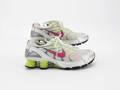 d167442135f Nike Shox Turbo Plus VI Women Athletic Running Shoes Size 9M Pre Owned FJ