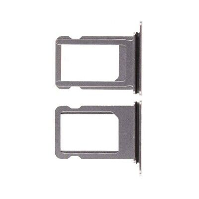 Nano Sim Card Tray Holder Replacement for iPhone X Silver