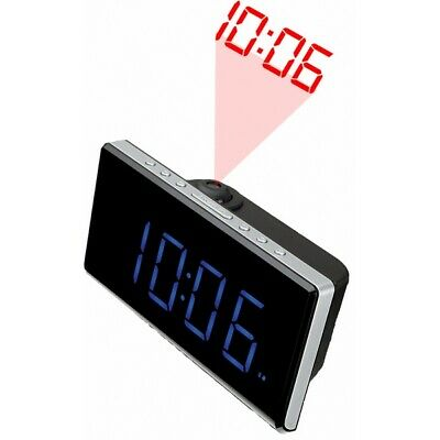 "BB S0416957 Radio Sveglia Denver Electronics CRP-515 1,8"" LED FM Nero"