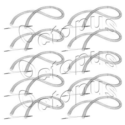 10 Pack Dryer Heating Element Fits Frigidaire, AP2135127, PS451031, 5300622032