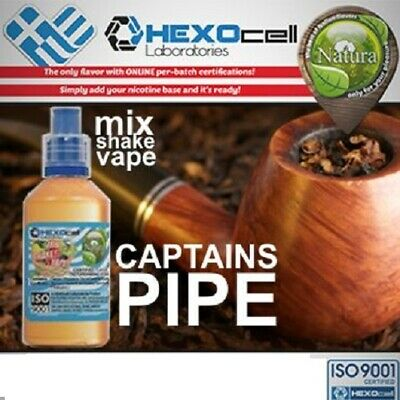 Liquid -Juice Natura - Captains Pipe 100ml Nicotine 18 mg made in EU