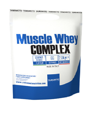 YAMAMOTO NUTRITION Muscle Whey Complex Proteine in polvere 2 Kg.