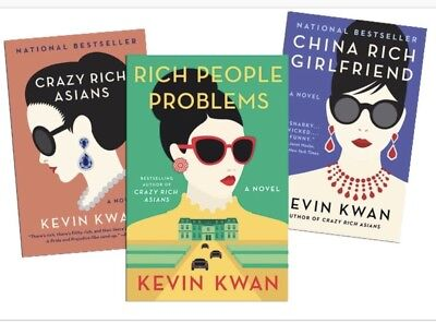Crazy Rich Asians Trilogy 3-in-1 Kevin Kwan E.book (pdf & Epub) QUICK DELIVERY!