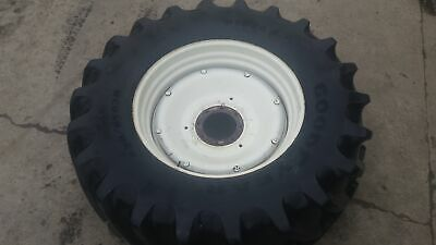 FIAT F140  Rear Wheel 18 x 38 (5163944, 5167443) and Goodyear Tyre 650/65 R38