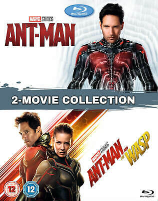 ANT-MAN + ANT-MAN AND THE WASP 1 & 2 [Blu-ray Box Set] 2-Movie Collection Marvel