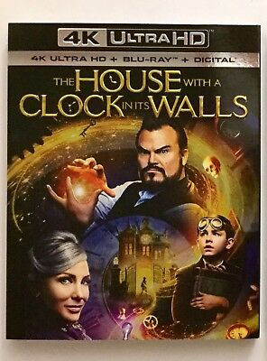 The House with a Clock in its Walls 4K Blu-ray Digital Brand NEW FREE~Shipping!