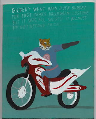 Pulpbrother Javier Mayoral painting outsider art comic