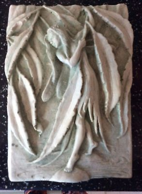 Latex Mould for making lovely angel/fairy plaque