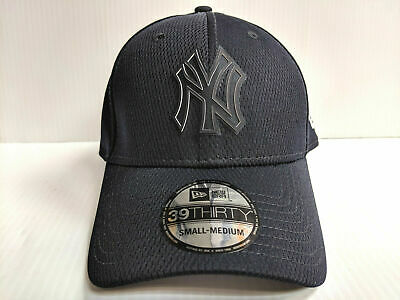 47be0590e4c901 New York Yankees Cap New Era 39Thirty Stretch Fit 2019 Navy Clubhouse Hat  MLB