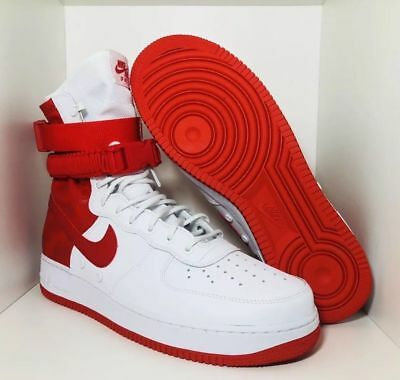 NIKE SF-AF1 High Air Force 1University Red White Special Forces AR1955-100 Sz 13