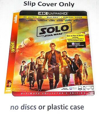Solo: A Star Wars Story 4K Ultra HD - Slip Cover Only (no blu ray)