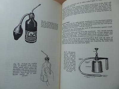 Vintage Book On Wood Worm How To Spot And How To Prevent Complete Study Vgc 1954