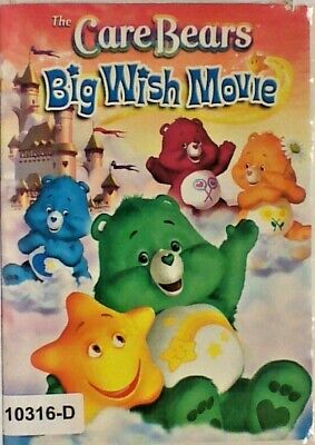 DVD BIG WISH MOVIE - The Care Bears in Original Jacket FS       10