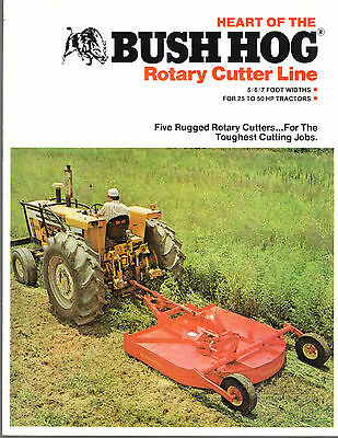 1980S BUSH HOG Tractor Squealer Rotary Cutters Mowers 10