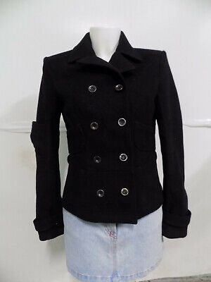 best service d0eb6 df42c ARMANI JEANS CAPPOTTO Trench Giaccone Jacket Coat Donna Tg ...