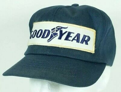 8cd26a0e785 Vintage Goodyear Tire Patch Snapback Trucker Hat Cap Swingster Made in USA