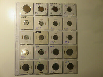 Lote 20 Monedas Noruega / Norway Coins