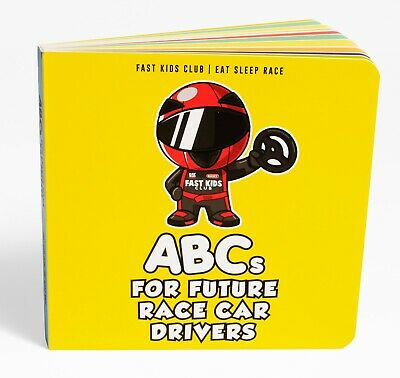 ABC Book For Future Race Car Drivers