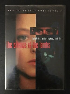 The Silence of the Lambs (DVD 1998 Criterion Collection #13) Rare OOP!! Demme