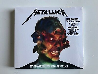 Metallica Hardwired To Self Destruct 2 CD Digipack