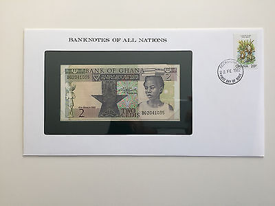 Banknotes of All Nations – Ghana 2 Cedis UNC