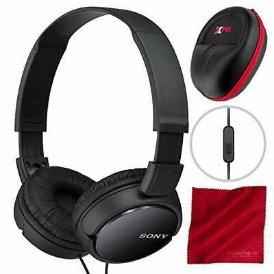 2091139ed71 Sony MDRZX110AP ZX Series Extra Bass Smartphone Headset with Mic (Black)  and Xpi