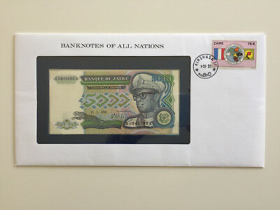 Banknotes of All Nations – Zaire 5000 Zaires 1988 UNC