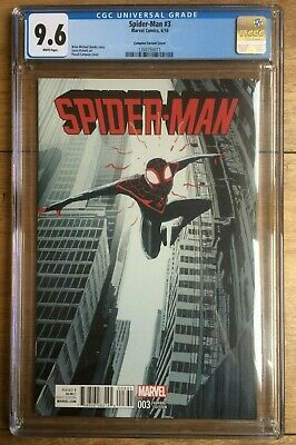 Spider-Man #3 1:25 Pascal Campion Variant CGC 9.6 2016