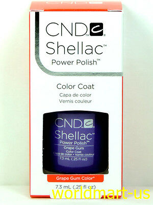 CND Shellac GelColor UV/LED: #09945_Grape Gum 0.25fl.Oz